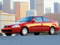 1998 Honda Civic DX Coupe, 1998 Honda Civic 2 Dr DX Coupe picture, exterior