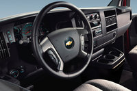 2010 Chevrolet Express Cargo, Interior View, interior, manufacturer, gallery_worthy