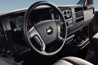 2010 Chevrolet Express Cargo, Interior View, interior, manufacturer