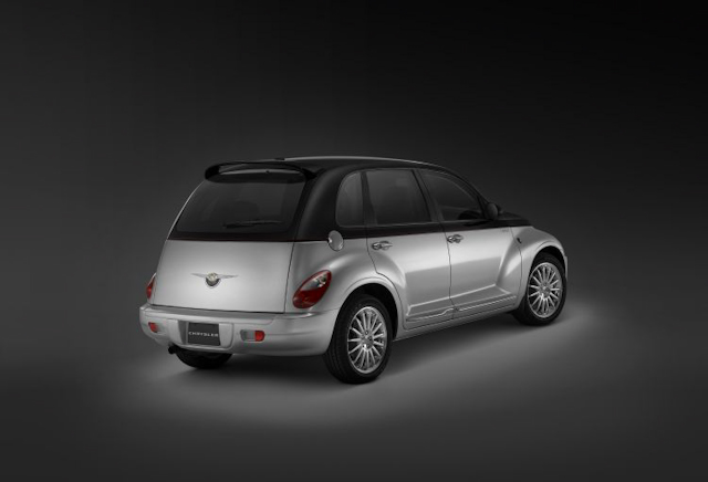 2010 Chrysler PT Cruiser, Back Right Quarter View, manufacturer, exterior