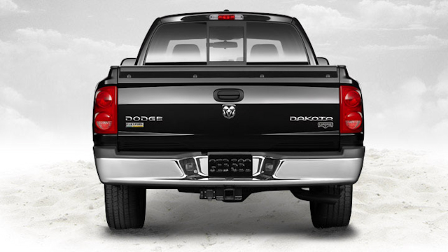 2010 Dodge Dakota, Back View, manufacturer, exterior
