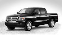 2010 Dodge Dakota, Front Left Quarter View, exterior, manufacturer