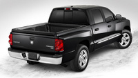 2010 Dodge Dakota, Back Right Quarter View, manufacturer, exterior