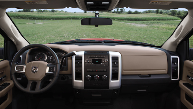 2010 Dodge Ram Pickup 2500, Interior View, manufacturer, interior