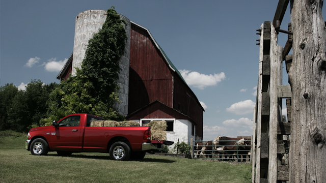 2010 Dodge Ram Pickup 2500, Left Side View, exterior, manufacturer
