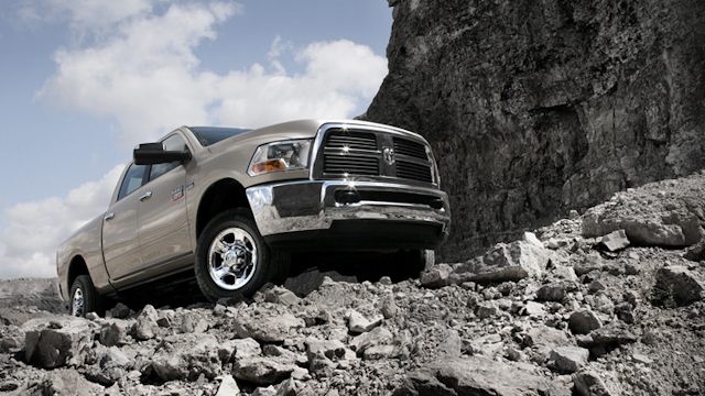 2010 Dodge Ram Pickup 2500, Front Right Quarter View, exterior, manufacturer