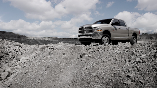 2010 Dodge Ram Pickup 2500, Front Left Quarter View, manufacturer, exterior