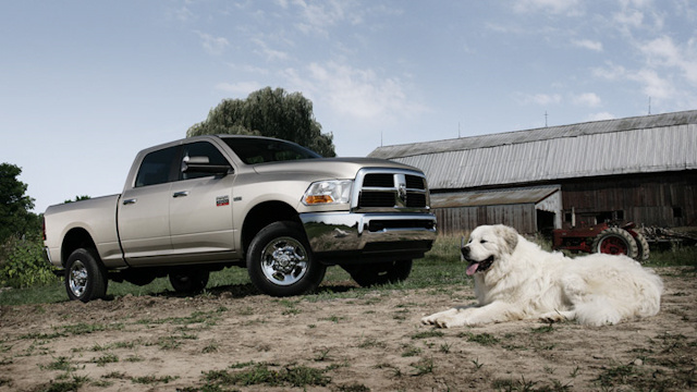 2010 Dodge Ram 2500, Right Side View, exterior, manufacturer
