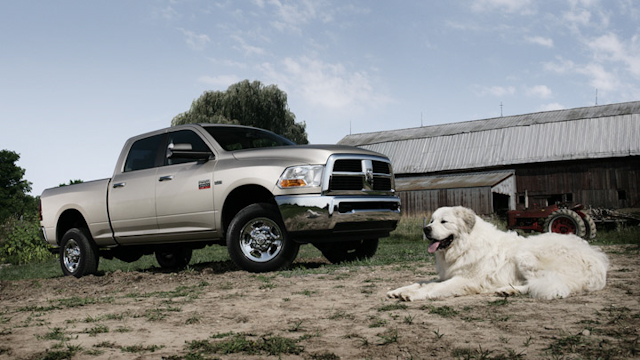 2010 Dodge Ram Pickup 2500, Right Side View, exterior, manufacturer