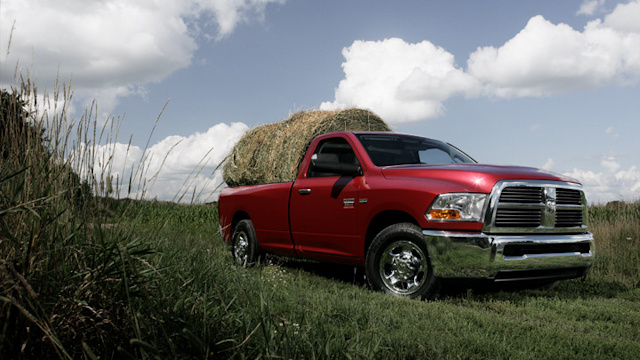 2010 Dodge Ram 2500, Front Right Quarter View, exterior, manufacturer