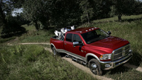 2010 Dodge Ram Pickup 3500, Overhead View, exterior, manufacturer