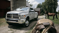 2010 Dodge Ram Pickup 3500, Front View, exterior, manufacturer