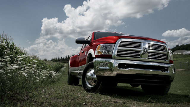 2010 Dodge Ram Pickup 3500, Front Right Quarter View, manufacturer, exterior