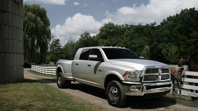 2010 Dodge Ram Pickup 3500, Front Right Quarter View, exterior, manufacturer
