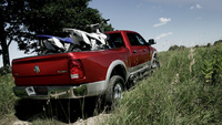 2010 Dodge Ram Pickup 3500, Back Right Quarter View, manufacturer, exterior