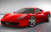 2010 Ferrari 458 Italia, Front Left Quarter View, exterior, manufacturer