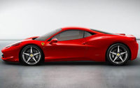 2010 Ferrari 458 Italia, Left Side View, exterior, manufacturer