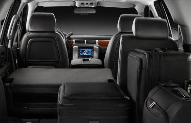 2010 GMC Yukon XL, Interior View, interior, manufacturer