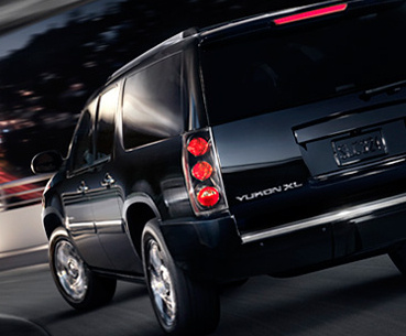 2010 GMC Yukon XL, Back Left Quarter View, exterior, manufacturer