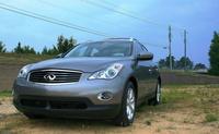 2009 Infiniti EX35, Front View, exterior, manufacturer