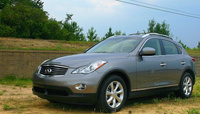 2009 Infiniti EX35, Left Side View, exterior, manufacturer