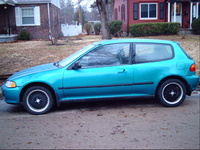 Picture of 1993 Honda Civic DX Hatchback, exterior