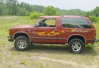 1987 Chevrolet S-10 Blazer Overview