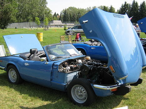 Picture of 1975 Triumph Spitfire, exterior, engine