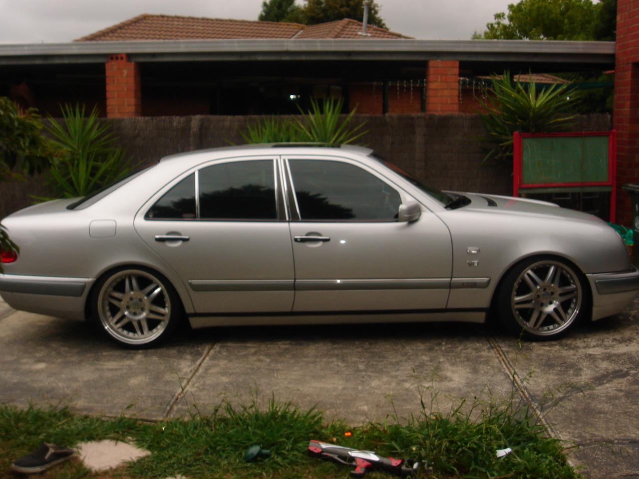 1998 Mercedes-benz E-class - Pictures