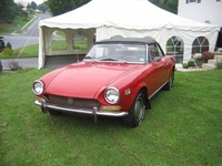 1972 FIAT 124 Spider Overview