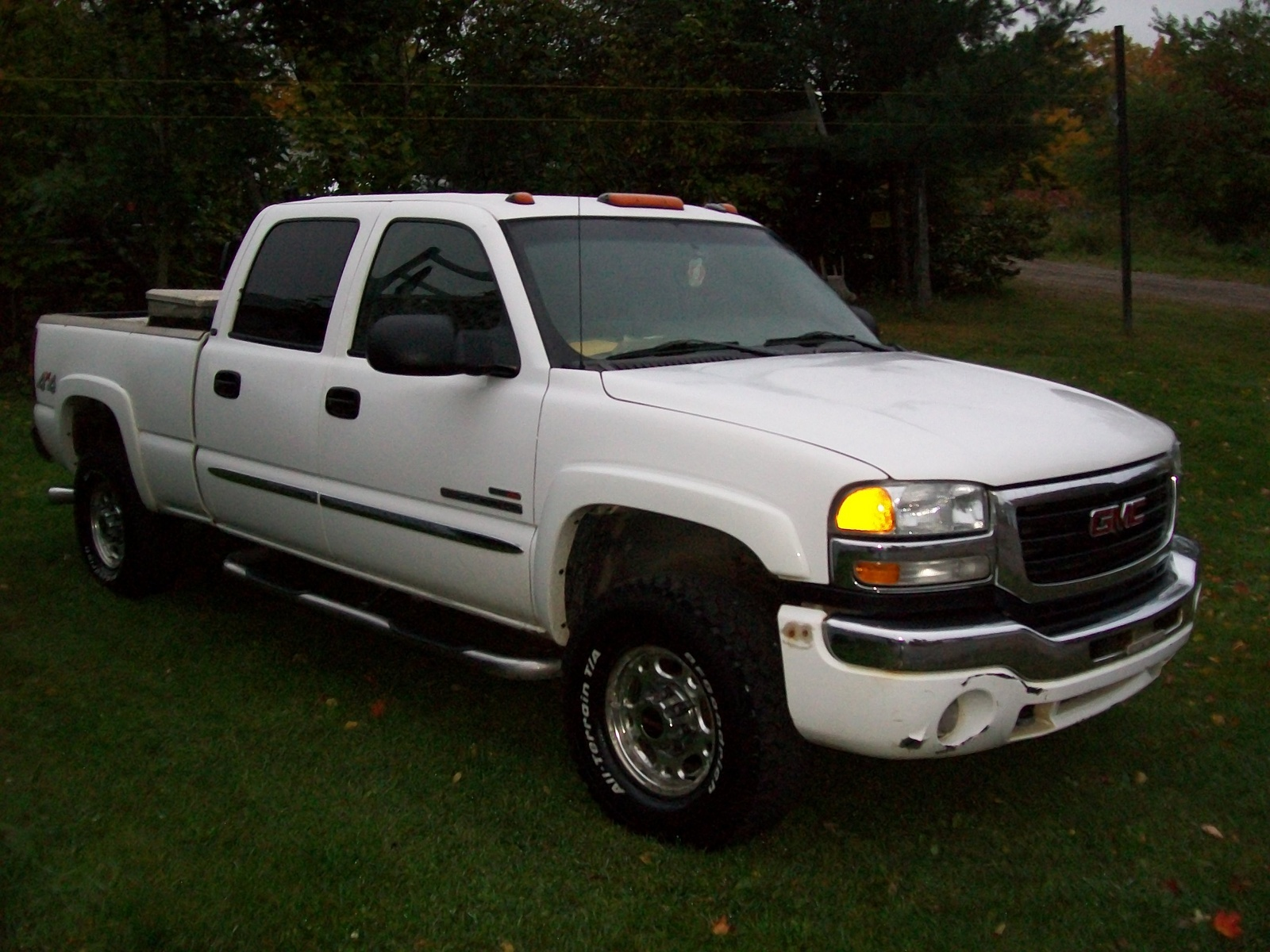 Picture of 2005 gmc sierra 2500hd 4 dr slt 4wd crew cab lb hd exterior