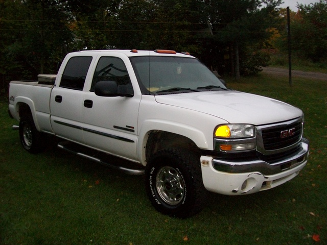 Picture of 2005 GMC Sierra 2500HD 4 Dr SLT 4WD Crew Cab LB HD, exterior, gallery_worthy