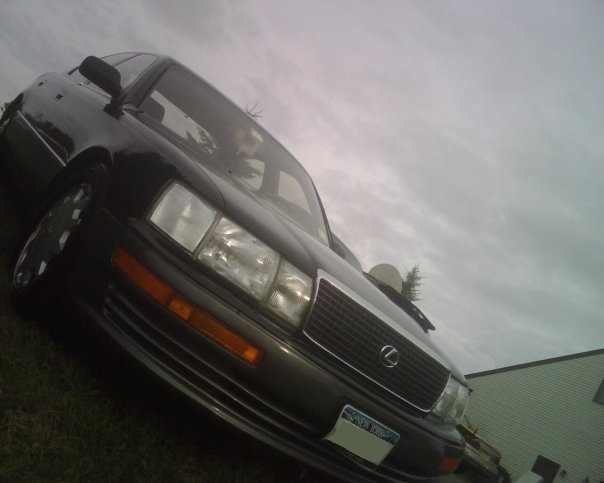 1990 Lexus LS 400 4 Dr STD Sedan picture, exterior