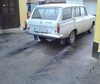 1974 Moskvitch 408 Overview