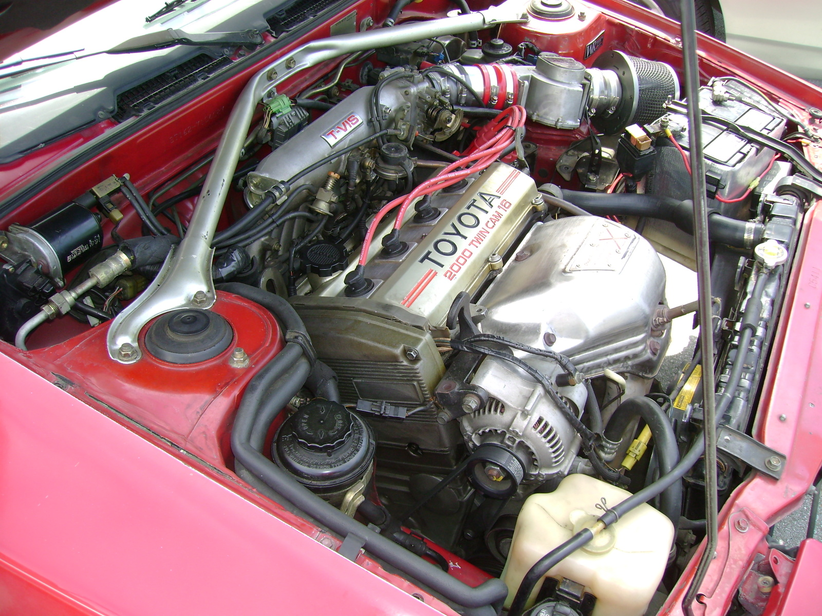 тойота селика фото двигателя