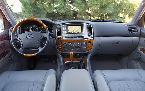 2007 Lexus Lx 470 Interior Pictures Cargurus