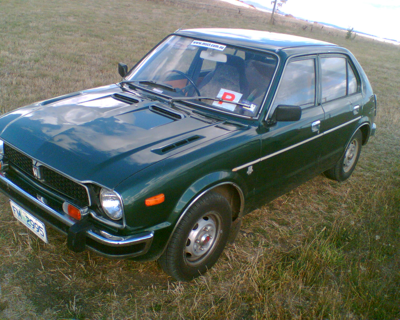 1977 Honda Civic picture
