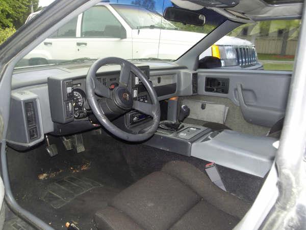 1986 Pontiac Fiero GT picture, interior
