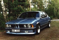 1986 BMW 7 Series Overview