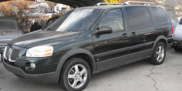 2000 Pontiac Montana Minivan. 2006 Pontiac Montana SV6