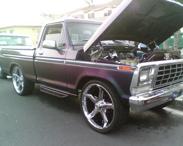 1979 Ford F-150, 1979 ford f150...has a 523big block engine, exterior
