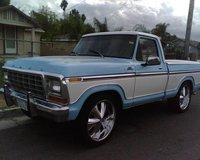 1979 Ford F-150, 1979 ford f150 lariat all original has a 302 engine, exterior