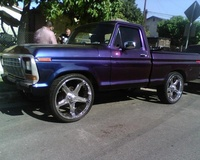 1979 Ford F-150, 1979 ford f150 on 26inch rims, exterior