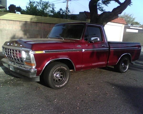 1979 Ford F-150, 1979 ford f150 has a 460 big block engine, exterior