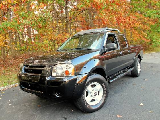 2002 Nissan Frontier 4 Dr SC Supercharged 4WD Crew Cab LB picture
