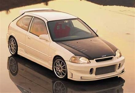 Picture of 1996 Honda Civic CX Hatchback, exterior
