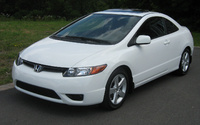 2008 Honda Civic Coupe Overview