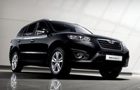 2010 Hyundai Santa Fe, Front Right Quarter View, exterior, manufacturer