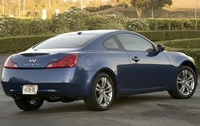 2010 Infiniti G37, Back Right Quarter View, manufacturer, exterior