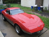 1974 Chevrolet Corvette 2 Dr STD Coupe, This Car looked nothing like this when I brought her home, 10K later and a whole summer. Look at that.!!, exterior